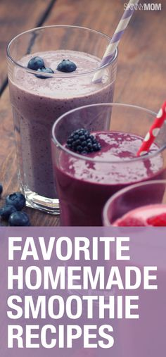 Check out these healthy, mommy-approved smoothies.