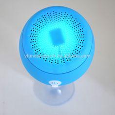 Stereo HiFi Sound Waterproof Bluetooth Speaker Wireless Portable Whale Shape Sucking Wireless Bluetooth Speaker with LED Light