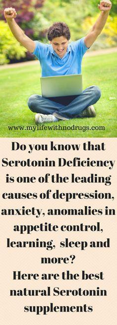 The best natural #Serotonin #supplements