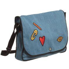 bff5823ca05 Girls Blue Denim Messenger Bag (32cm). Paris GirlSonia RykielBlue ...