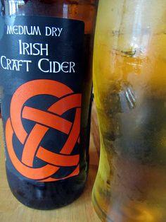Irish craft cider, Local Stonewell brand, Kinsale, Cork, Ireland