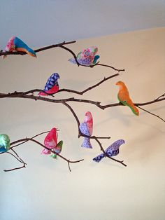 bird mobile step by step