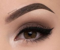makeup, beauty, and eyes image Smoky Eye Makeup, Makeup Eye Looks, Natural Eye Makeup, Skin Makeup, Eyeshadow Makeup, Makeup Inspo, Makeup Inspiration, Eye Makeup Designs, Formal Makeup