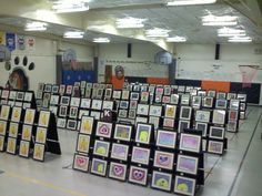 Elementary School Art Show #ArtomeArtShows #Artome