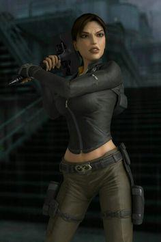 Lara Croft by Stanley Cyganów