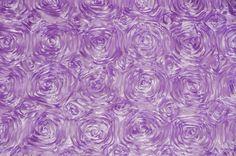 Lavender Rosette Sat...