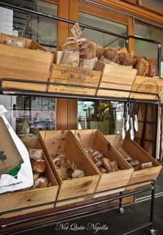 Make smaller crates for bread storage on the counter or in the pantry.
