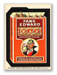 Fang Edward Exploding Cigars
