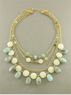 Lily Amazonite Necklace | Awesome Selection of Chic Fashion Jewelry | Emma Stine Limited