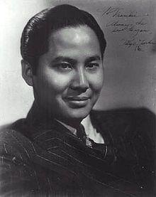 Keye Luke. Number one son to Warner Oland's Charlie Chan.