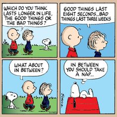 Wednesday with Charlie Brown and Linus