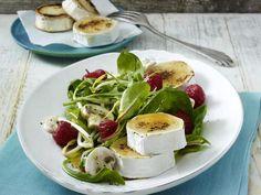 Salatrezepte - knackfrische Schlemmersalate - blattsalat-himbeer14  Rezept