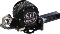 KFI Products Tiger Tail Tow System - Adjustable 101100 100 percent MADE IN USA. 12 feet of lb avg. breaking strength rope with wear resistant Jeep Xj Mods, Truck Mods, Tow Truck, Accessoires Quad, Jeep Wrangler, Jeep Wj, Atv Winch, Electric Winch, Garage Organization