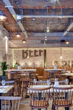 DV8 Designs has created a true rustic feel in Beef and Pudding restaurant (10)