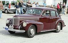 Opel Kapitän '39 (1938–1940)
