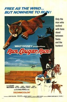 Run, Cougar, Run - 18 Oct 1972; I watched it on 13 May 2014