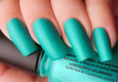 Turned up turquoise @}-,-;--