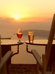 Watching the sunset #Santorini #Greece ~ Law and Fashion -Criminal Intent-
