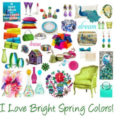 Bright Spring, created by mpsakatrixie on Polyvore