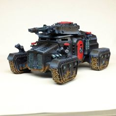 Still WIP but got some paint on the #taurox #chimera conversion. #warmongers
