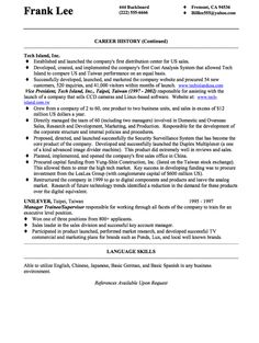 Business continuity consultant resume