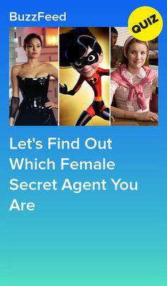 Which Female Secret Agent Are You? Quizzes Funny, Quizzes Games, Quizzes For Fun, Random Quizzes, Girl Quizzes, Superpower Quiz, Superhero Quiz, Best Buzzfeed Quizzes, Disney Prom