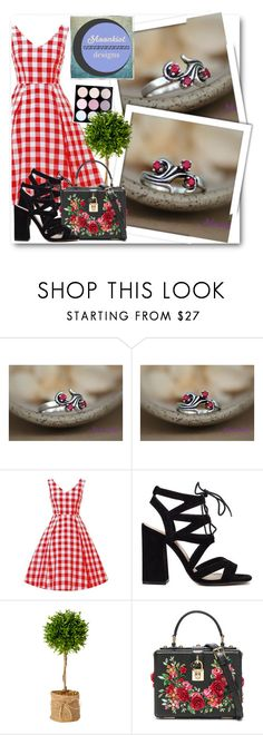 """Moonkist Designs 14"" by fashionmonsters ❤ liked on Polyvore featuring Dolce&Gabbana"