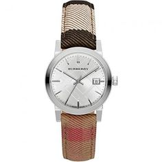 cdbb287ad82 Classic Burberry Women s The City Woven Strap Watch