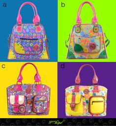 ¿Cuál te gusta más? Adquiére estas elegantes y vanguardistas bolsas AQUÍ http://www.distribuidoranuevaimagen.com/catalogo/tienda-en-linea/bolsos-diamante