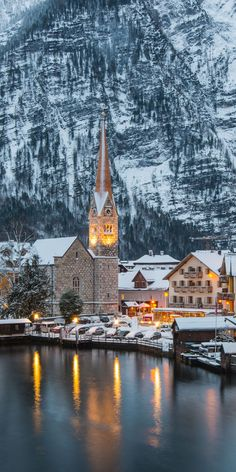 Hallstatt, Austria, now I would love to visit here, it looks like a place to stay over for one who is looking for peace and relaxation...  GG Bridal