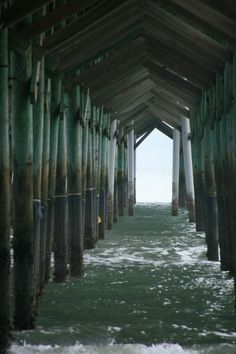 The pier at Pawleys Island