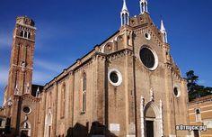 Собор Санта Мария Глориоза дей Фрари Basilica di Santa Maria Gloriosa dei Frari Венеция 1250-1338
