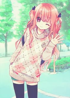 Find images and videos about anime, kawaii and manga on we heart it - the app to get lost in what you love. Anime Chibi, Manga Anime, Manga Girl, Anime Girls, Kawaii Anime Girl, Anime Art, Anime Love, Awesome Anime, Manga Outfits