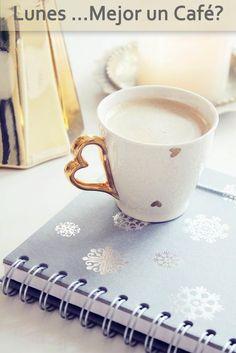 Lunes mejor con un #cafe! #buenosdias #lunes #desayuno #mañanas #badebaño