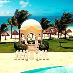 Our of our favorite #DestinationWedding locations? The stunning wedding gazebo at #SecretsCapri! Plan your special day in #paradise today using your #UnlimitedVacationClub membership! #weddingwednesday #mexico #travel #traveling #TagsForLikes #TFLers #vacation #visiting #instatravel #instago #instagood #trip #holiday #photooftheday #fun #travelling #tourism #tourist #instapassport #instatraveling #mytravelgram #travelgram #travelingram #igtravel