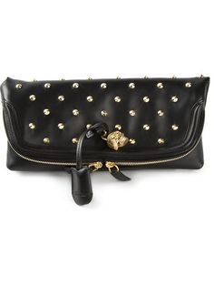 Shop Alexander McQueen 'Skull Padlock' clutch in Dell'oglio from the world's best independent boutiques at farfetch.com. Over 1000 designers from 300 boutiques in one website.