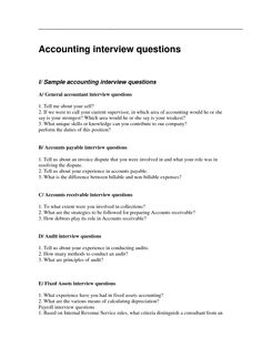 more @ http://www.samplequestionnaire.com/accountant-interview.html ...