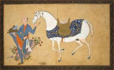 Youth-Playing-a-Lute.jpg Author: Sharaf al-Husayni al-Yazdi Miniatures, Gouache and gold, cm Origin: Iran, Between 1594 and 1595 Source of entry: Museum of the Stieglitz School, 1924 School: Qazvin Hermitage Museum, Iranian Art, Historical Art, Horse Art, Ancient Art, Islamic Art, Chinese Art, Oriental, Watercolor Art