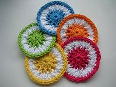 Whiskers & Wool: Scrubbie Dots Crochet Pattern - FREE