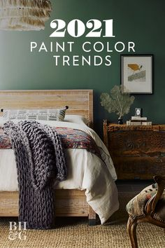If you're looking to hit refresh with a new splash of color, take your cues from the color experts at Sherwin-Williams, who just released their 2021 paint color predictions. Here are some of the top paint colors you can expect to see in 2021. #2021painttrends #bestpaintcolorsof2021 #roomcolorideas #paintideas #colorinspiration #bhg Warm Paint Colors, Trending Paint Colors, Popular Paint Colors, Interior Paint Colors, Paint Colors For Home, Interior Design, House Colors, Red Colour Palette, Paint Color Palettes