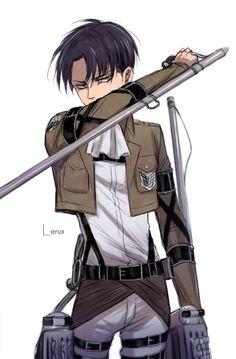 Levi (Rivaille) Ackerman | Shingeki no Kyojin #SnK                                                                                                                                                      More