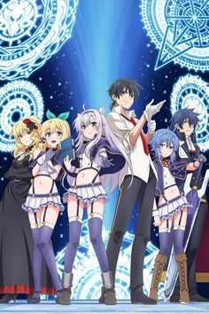 Spring 2017, Rokudenashi Majutsu Koushi to Akashic Records: Trashy but fun.