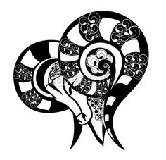 Segni zodiacali - design Aries.Tattoo