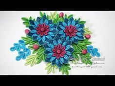 Quilling Flower V8 Tutorial Tutorial Video Thanks For Watching