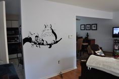 My Neighbor Totoro and Friends Wall Decal by VinylVanquish on Etsy