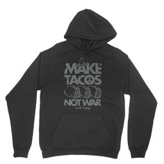 #hoodie #latinos #tacos #war #streetfashion #fashion 100% California fleece cotton Hooded with matching finished polyester drawcord Raglan sleeves Kangaroo pocket Fabric weight 7.2 oz/yd2 Made in California This American Apparel hoodie is made out of California fleece which, opposed to typical synthetic fleece, is…