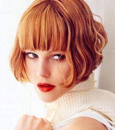 Tolle+mittellange+Frisuren+mit+Pony:+Lass+Dich+von+diesen+13+attraktiven+Frisuren+inspirieren!