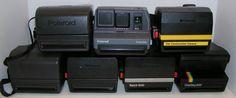 Polaroid Close Up Impulse Job Pro One Step Spirit Lot of 7 Instant Film Cameras #Polaroid