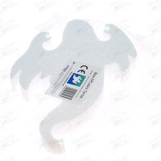 BASE TARTA PARA HALLOWEEN, FANTASMA POREXPAN 300x40 MM - www.chuchesonline.com