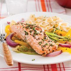 Truite saumonée en papillote et julienne de légumes - Recettes - Cuisine et nutrition - Pratico Pratique